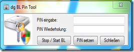 Bitlocker PIN tool
