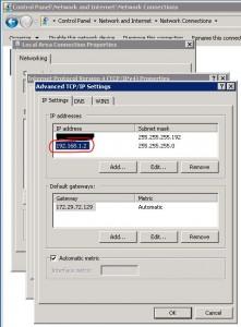 Second IP Address on NIC